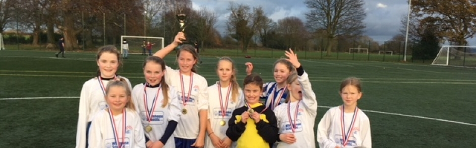 Under 11 girls - Chester Schools FA Winners
